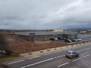 Construction d'un magasin