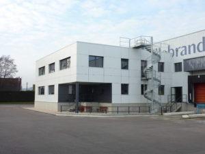 Réhabilitation et construction de bureaux